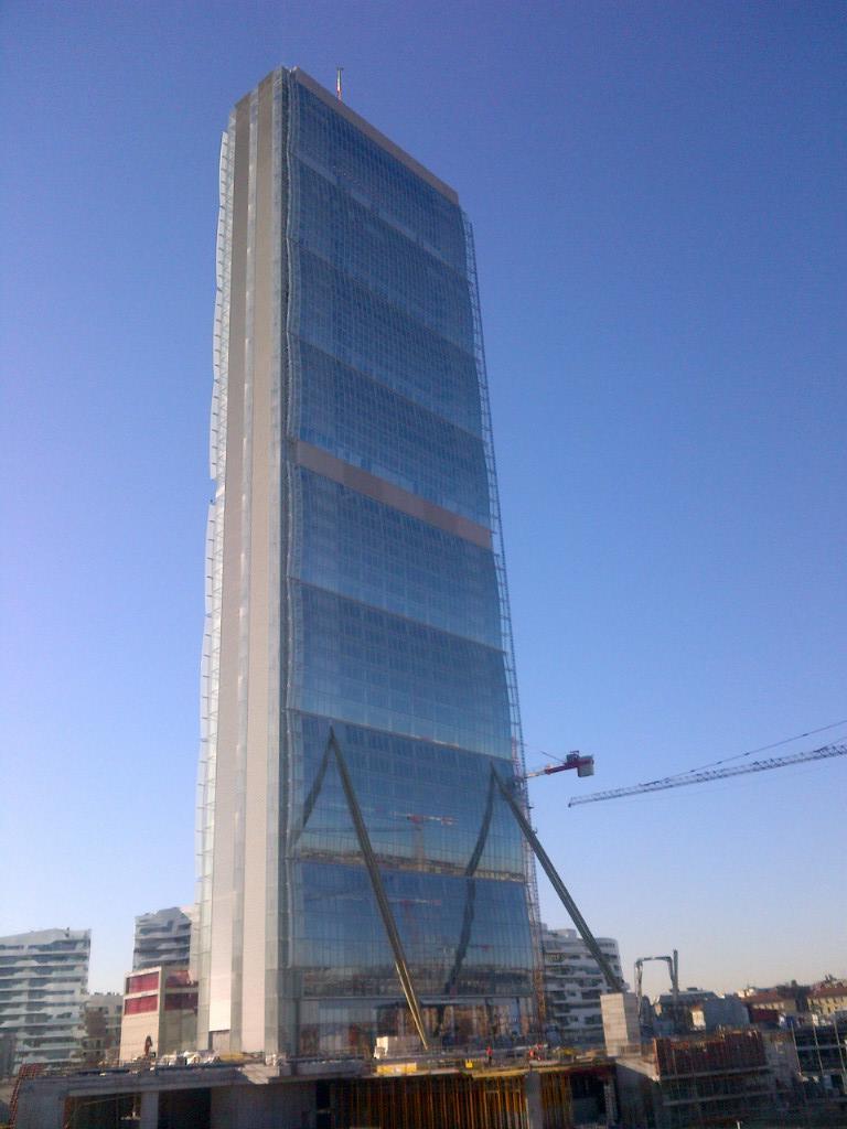 Torre Allianz Isozaki - CityLife Milano 2