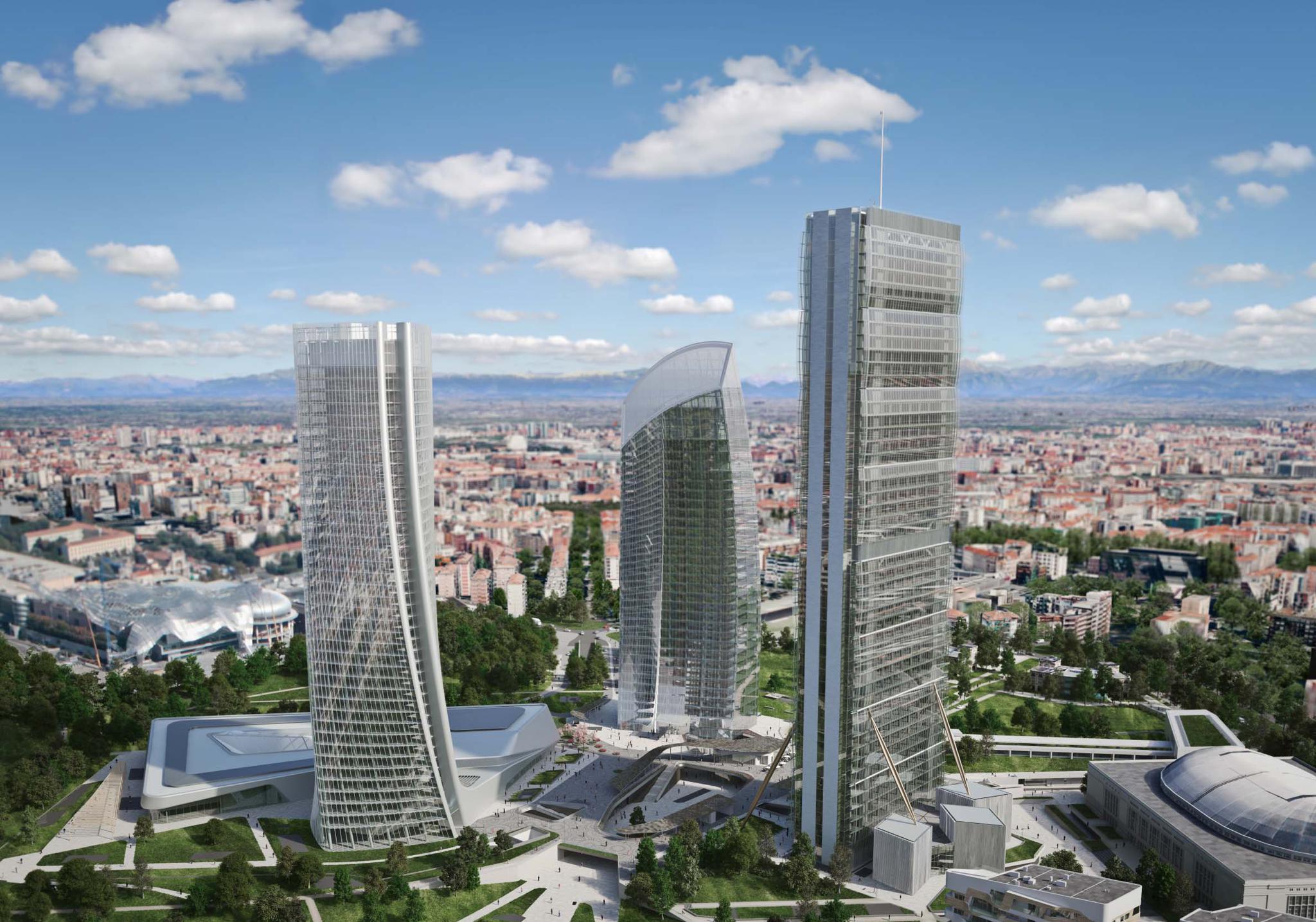 citylife milano 3