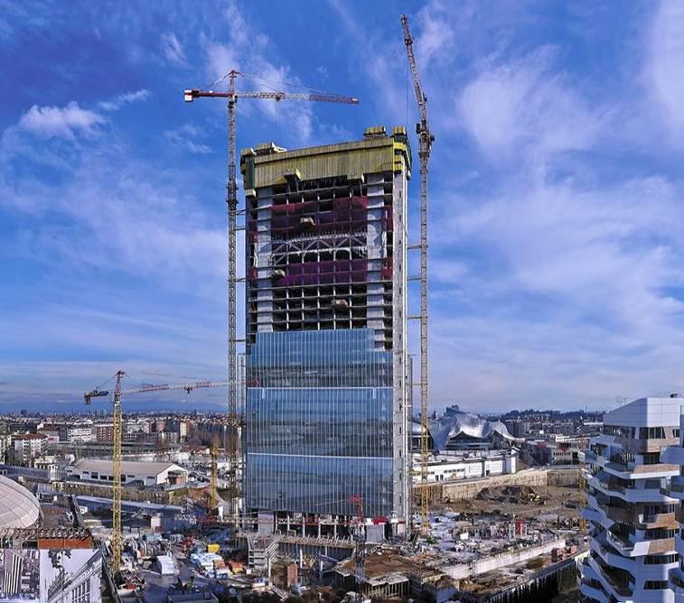 Torre Allianz Isozaki - CityLife Milano 1