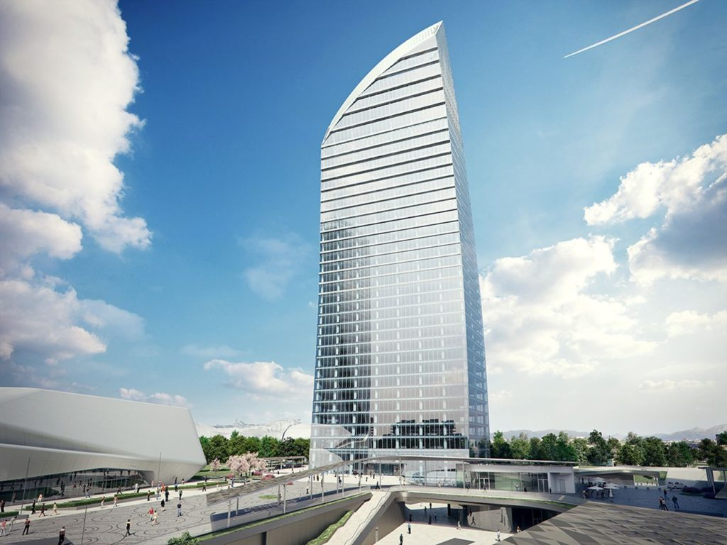 Torre PwC Libeskind - CityLife Milano 2