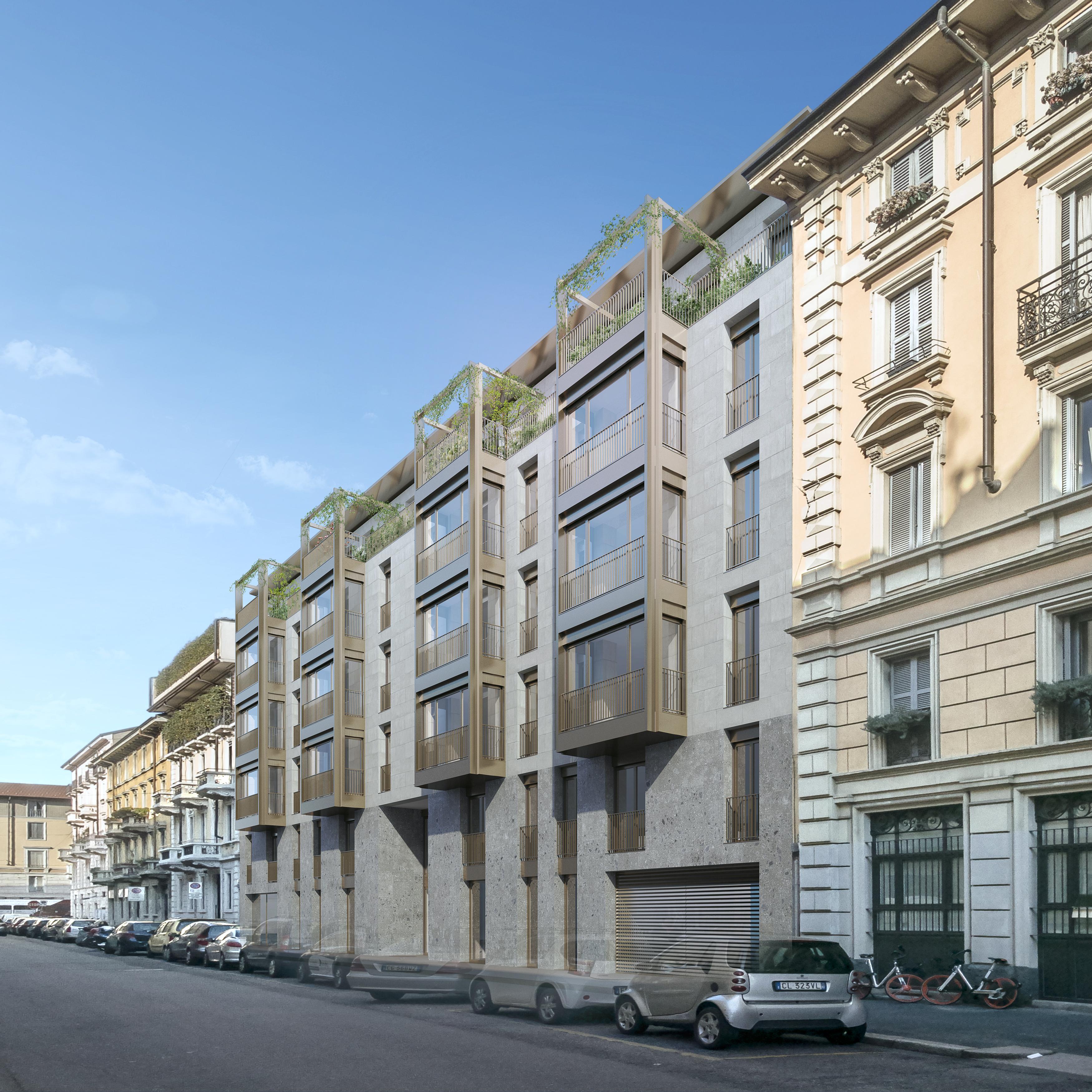 Palazzina di Via Kramer a Milano 1